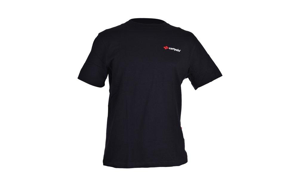 Schwarzes T-Shirt von Engelbert Strauss von corpuls